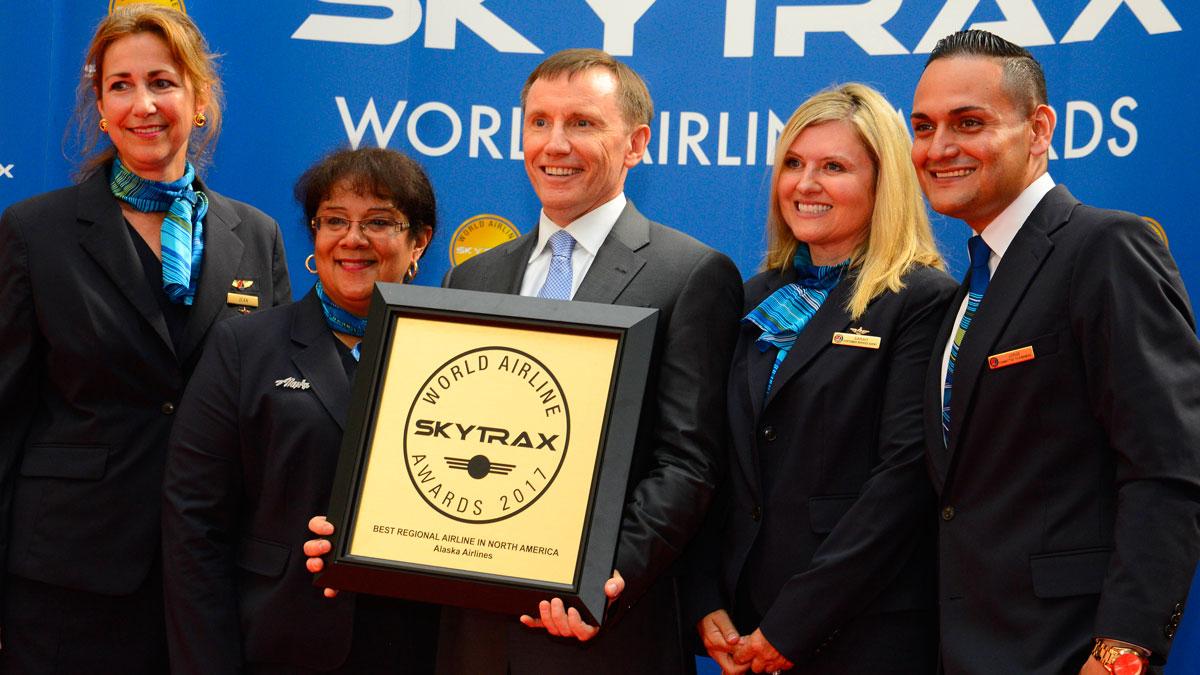 阿拉斯加航空全球航空公司奖
