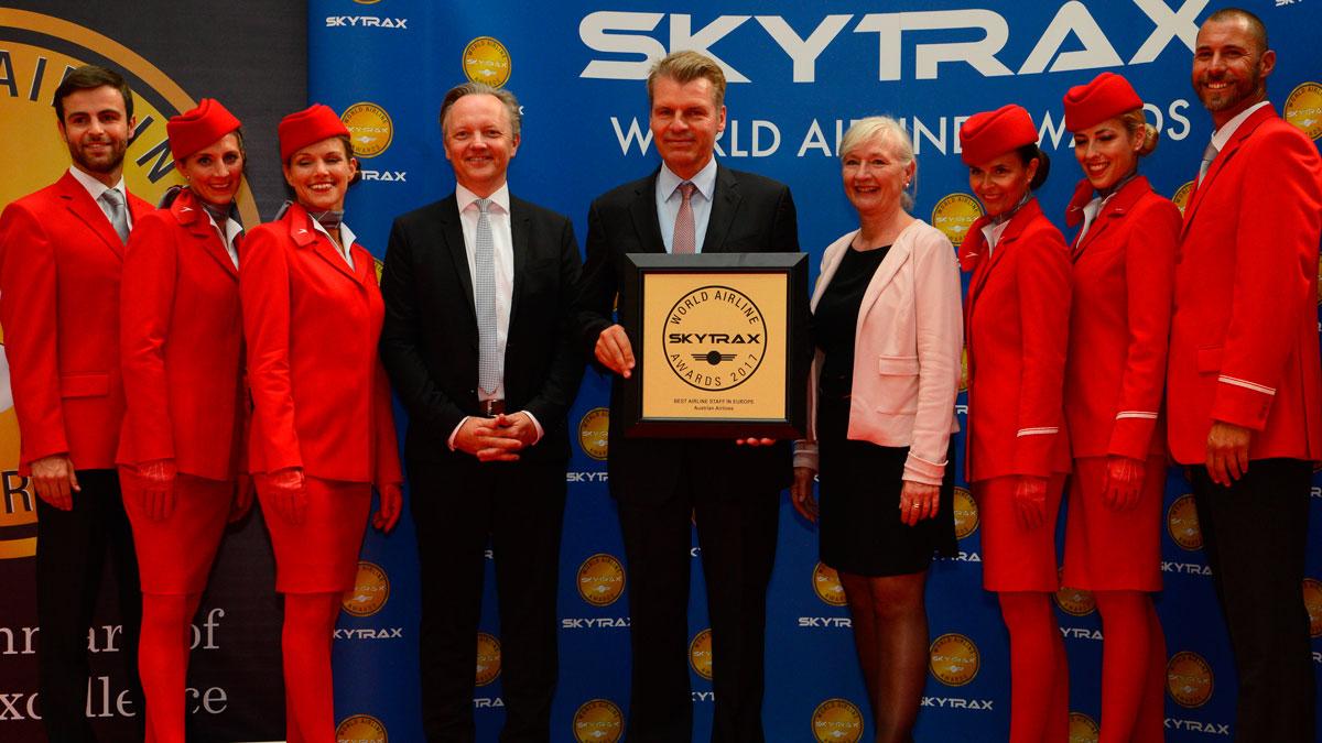 2017年欧洲最佳航空公司员工