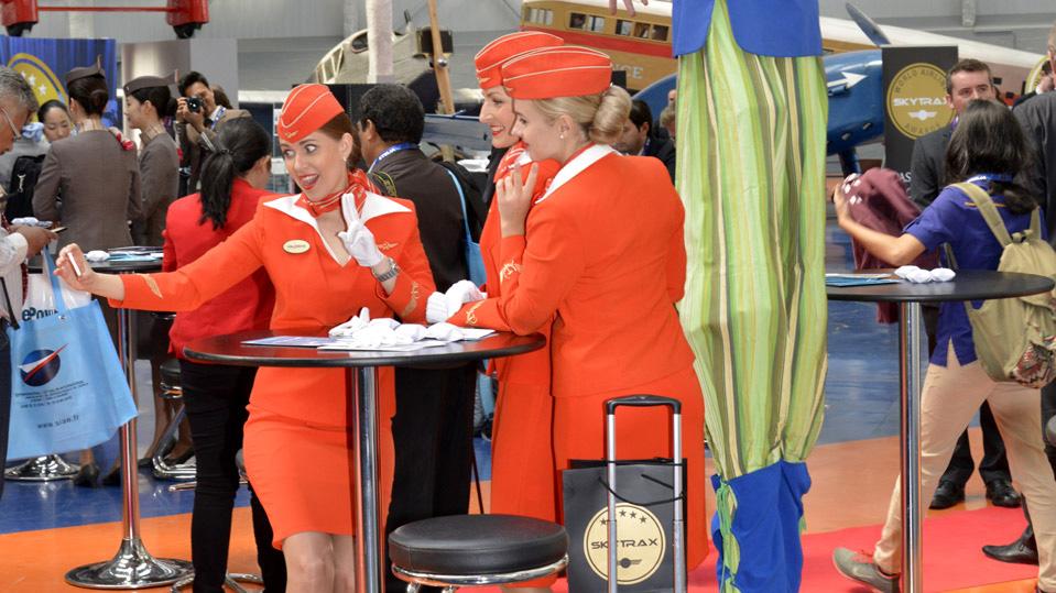 selfie en los world airline awards 2015