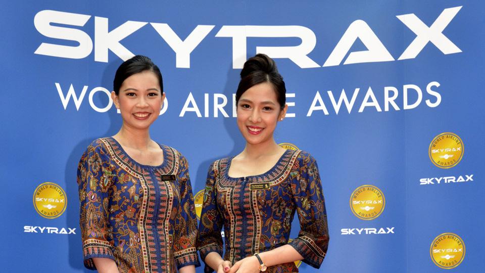 tripulación de cabina de singapore airlines