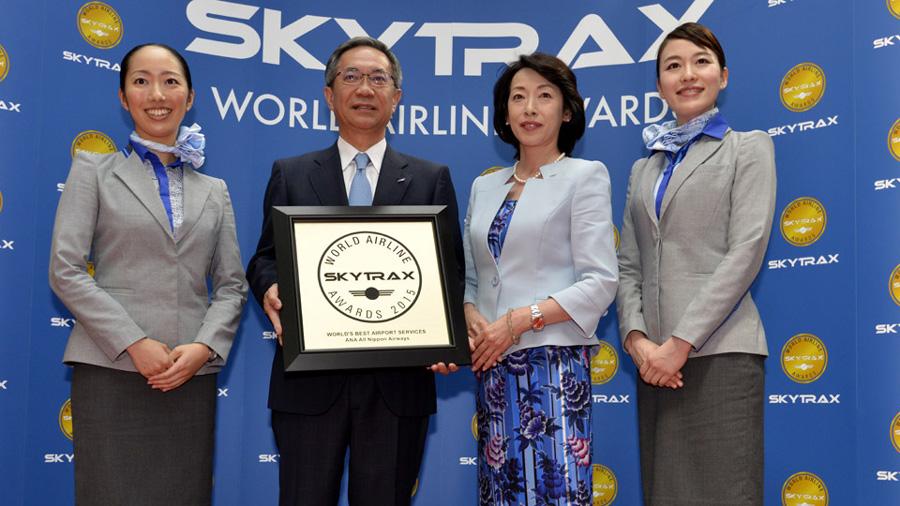 ana all nippon airways en los premios de 2015