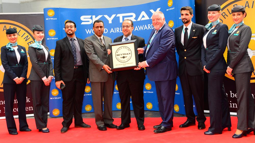 纳斯航空出席2017年skytrax奖
