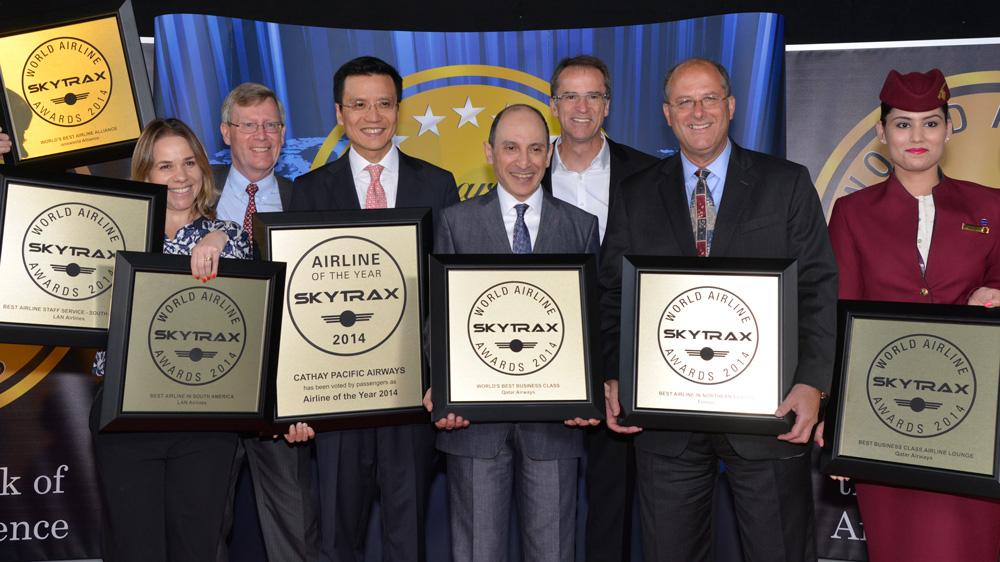 oneworld airlines galardonado