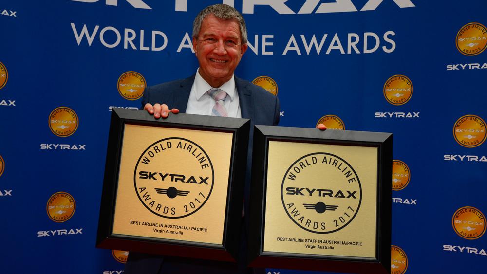 澳洲维珍航空荣获两项奖励