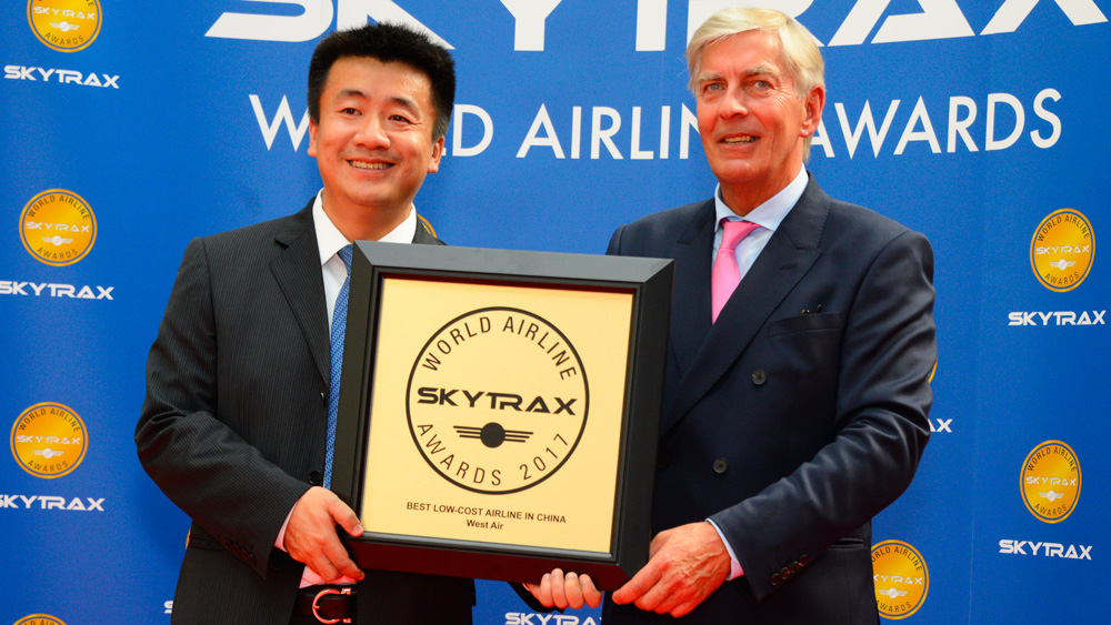 west air asiste a los airline awards